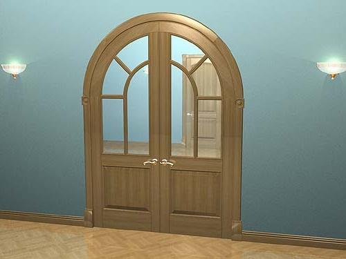 Арочные межкомнатные двери своими руками