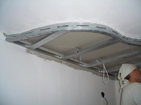 Как сделать своими руками двухуровневый потолок