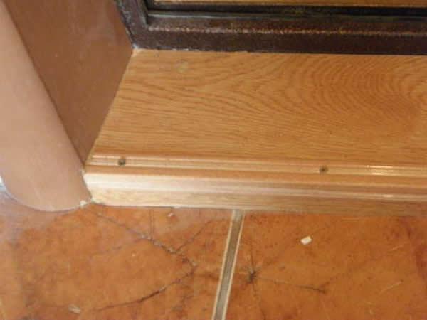 Откосы для входных дверей - способы отделки