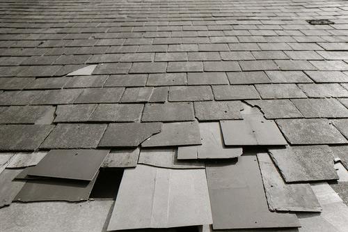 Крыша из плоского шифера