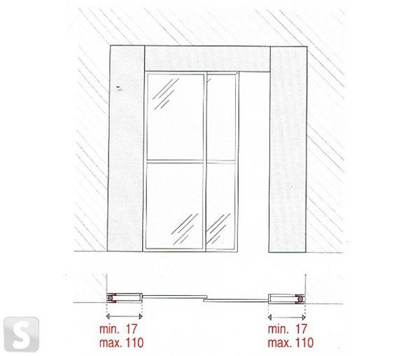 размеры межкомнатных дверей ширина толщина высота