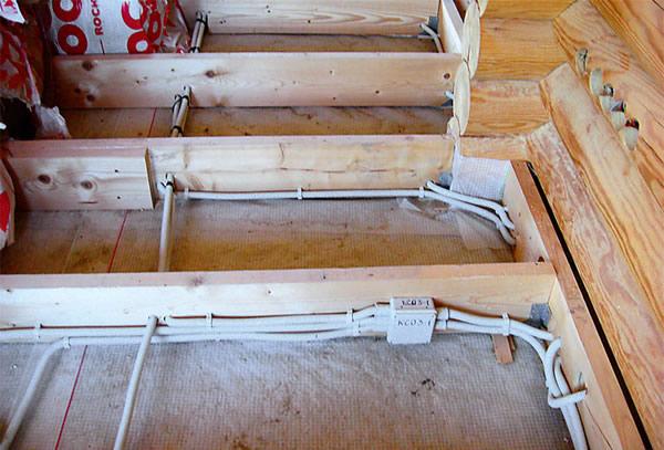 Скрытая электропроводка в деревянном доме своими руками 7