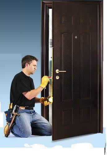 Установка стальных дверей в ваш дом